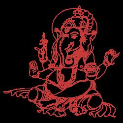 Vinilo elefante sagrado