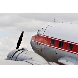Mural en vinilo avión antiguo 1
