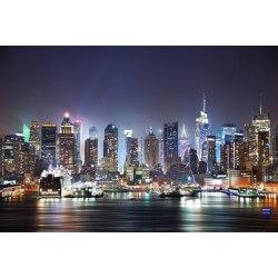 Fotomural New York de noche