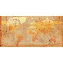 Fotomural mapa mundo vintage