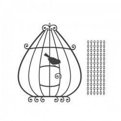 Vinilo decorativo pájaro