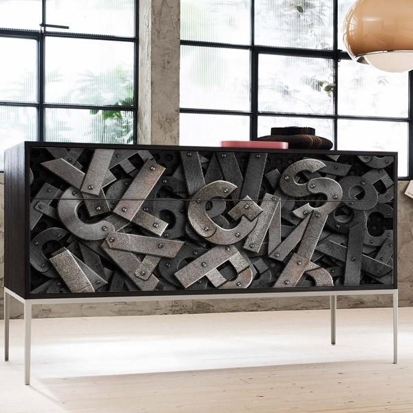 Vinilo para armarios sopa de letras