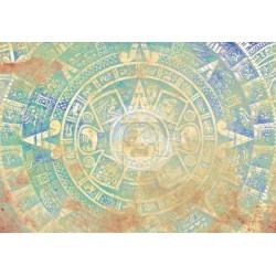Vinilo para cómodas calendario maya