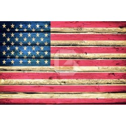 Vinilo cómodas bandera Americana