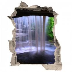 Vinilo de trampantojo cascada