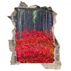 Adhesivo de trampantojo bosque