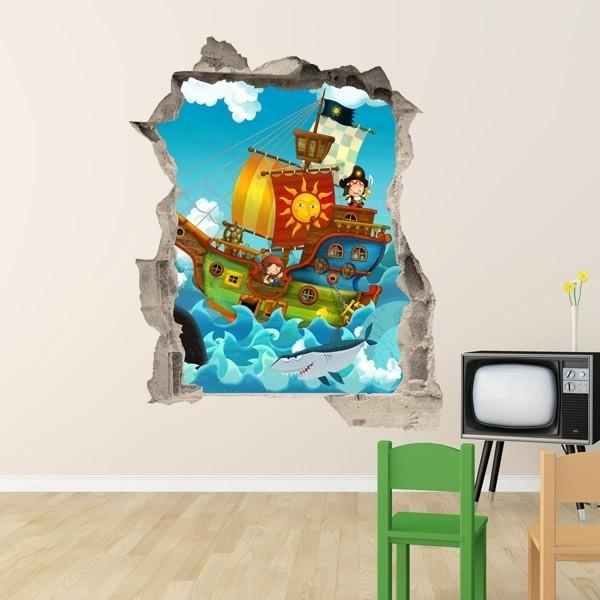 Vinilo trampantojo piratas