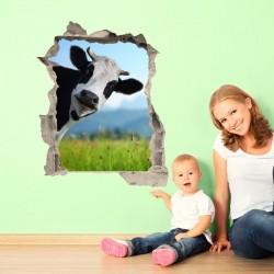 Adhesivo trampantojo vaca