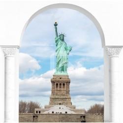 Vinilo trampantojo Estatua Libertad