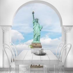 Vinilo trampantojo Estatua...