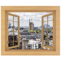 Vinilo ventana Londres