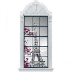 Adhesivo ventana Torre Eiffel