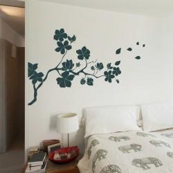 Adhesivo rama com flor 2