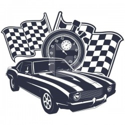 Vinilo decorativo muscle cars