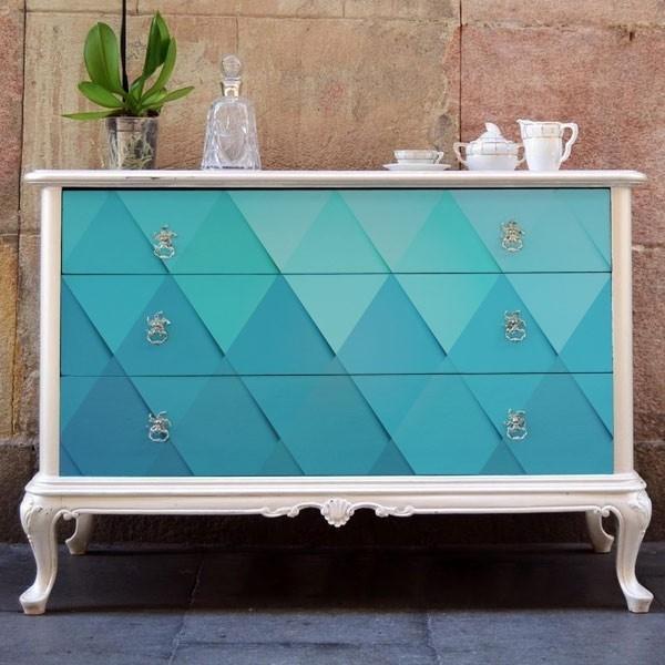 Vinilo para muebles textura geométrica