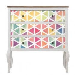 Vinilo para muebles textura watercolor