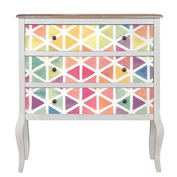 Vinilo para muebles textura watercolor
