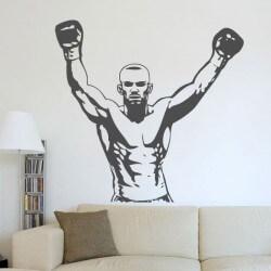 Pegatina decorativa boxeador