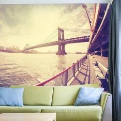 Fotomural puente de Manhattan
