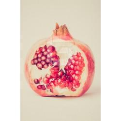 Mural de pared fruta granada