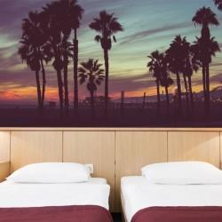 Mural de pared noches de Ibiza