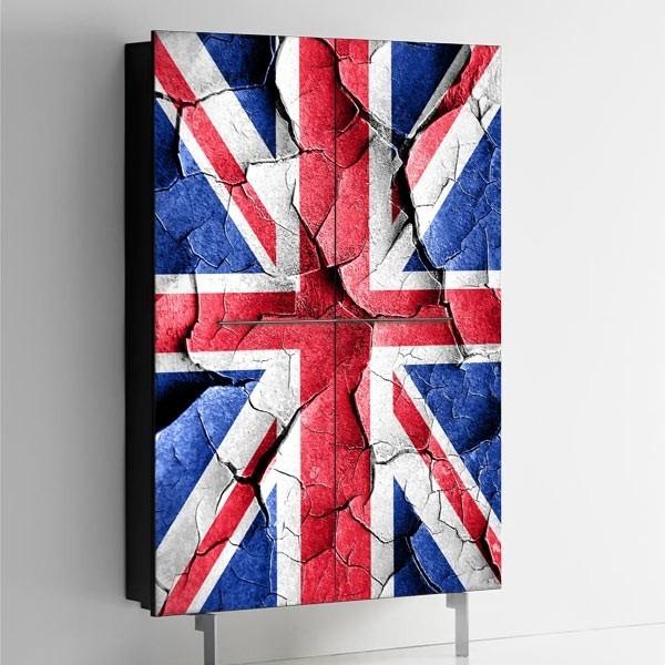 Vinilo bandera Reino Unido 1