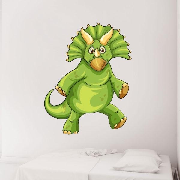 Adhesivo decorativo Triceratops