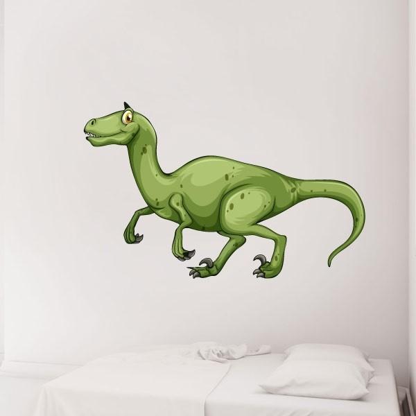 Vinilo infantil Velociraptor