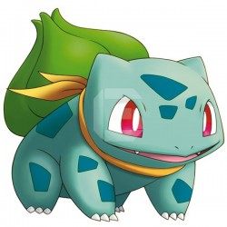 Adhesivo Pokémon Bulbasaur