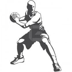 Vinilo de deporte baloncesto 3