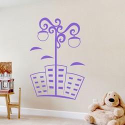 Pegatina decorativa farola 4