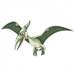 Vinilo infantil Pteranodon 2
