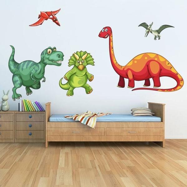 Adhesivo infantil dinosaurios