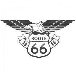 Vinilo decorativo route 66