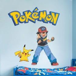 Vinilo infantil Pokémon