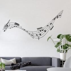 Pegatina pautas musicales 1