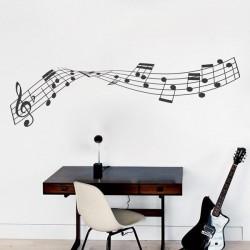 Vinilo de pautas musicales 5