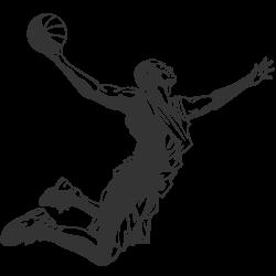 Vinilo adhesivo baloncesto