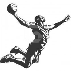 Vinilo adhesivo baloncesto 4