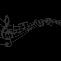 Vinilo pautas musicales 3