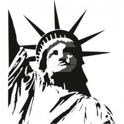 Vinilo Estatua de la Libertad 2