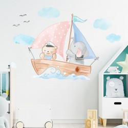 Vinilo Barco infantil
