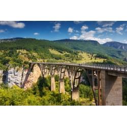 Mural puente viejo en Durdevica