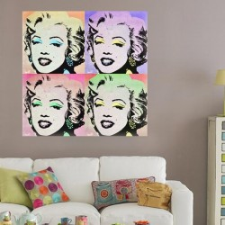Vinilo muebles fotos Marilyn Monroe