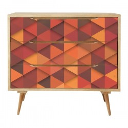 Vinilo muebles textura de...
