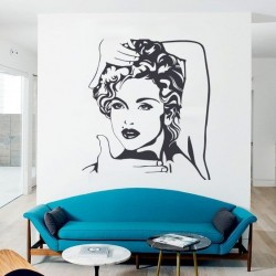 Pegatina decorativa Madonna