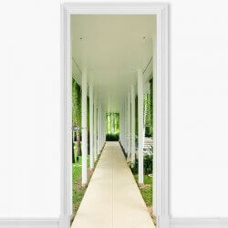 Vinilo decorativo pasillo...