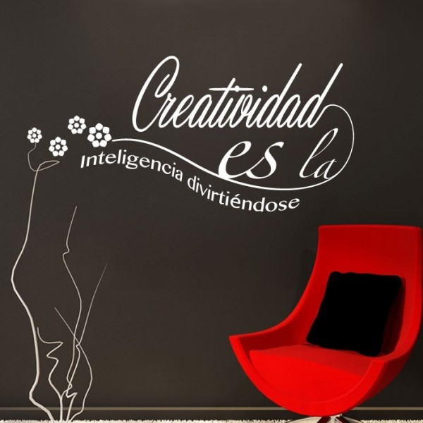 Vinilo decorativo creatividad