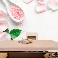 Fotomural sales de baño de rosas