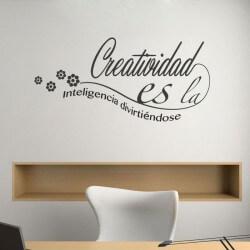 Vinilo decorativo creatividad